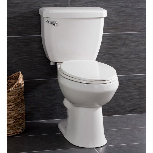 High Efficiency 1.28 GPF Elongated Two-Piece Toilet by Miseno