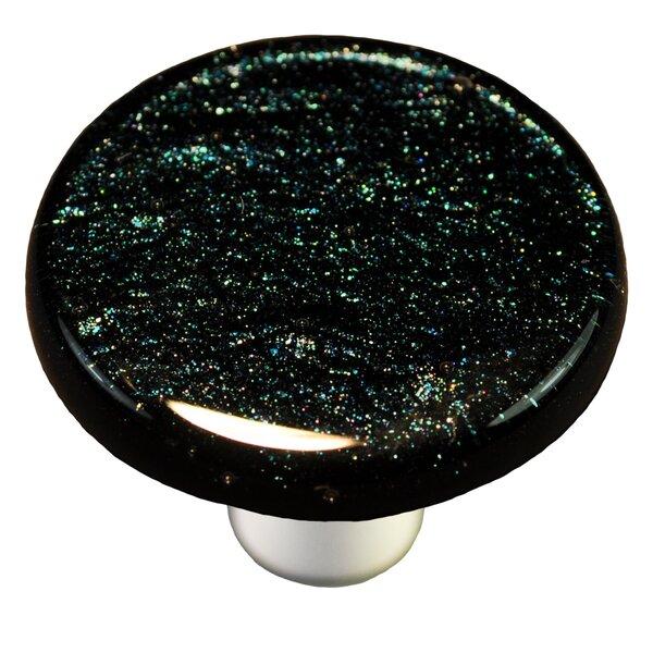 Solids Mushroom Knob by Aquila Art Glass