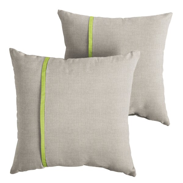 Chumley Indoor/Outdoor Throw Pillow (Set of 2) by Corrigan Studio