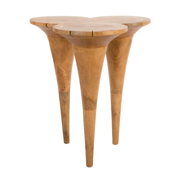 Butterfly Bar Height Mango Solid Wood Dining Table by Phillips Collection Phillips Collection