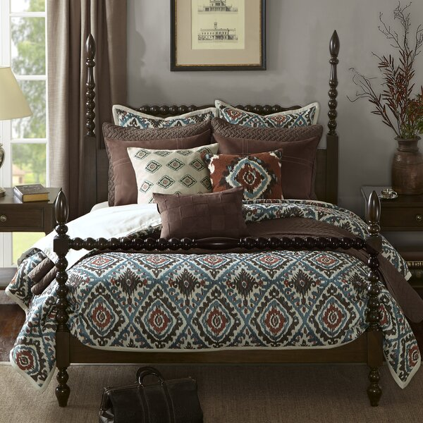 Beckett Four Poster Bed by Madison Park Signature