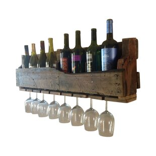Best 8 Bottle Wall Mounted Wine Rack By Del Hutson Designs Kitchen U0026 Dining  Furniture