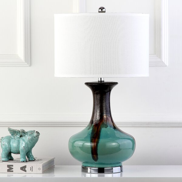 Reactive Glazing 30 Table Lamp by Safavieh