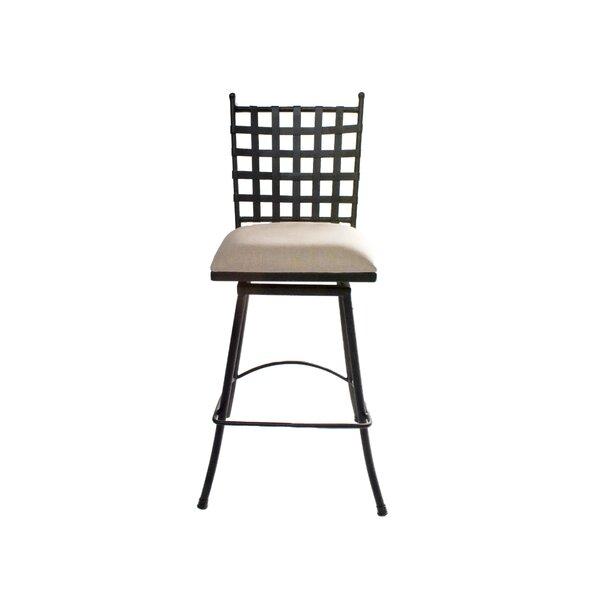 Jernigan Iron 30 Swivel Bar Stool by Gracie Oaks