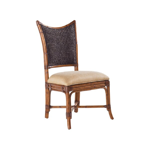 Island Estate Solid Wood Upholstered Dining Chair by Tommy Bahama Home