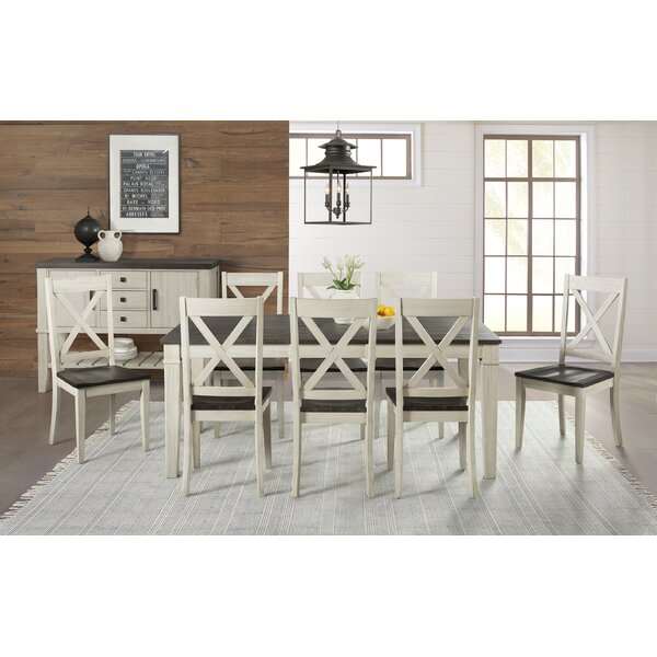 Scales 9 Piece Extendable Solid Wood Dining Set by Gracie Oaks