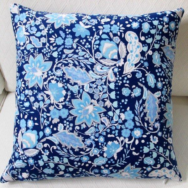 Sunshine Bellflower Indoor Pillow Cover by Artisan Pillows