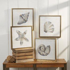 Ocean Icons Framed Prints by Birch Lane™