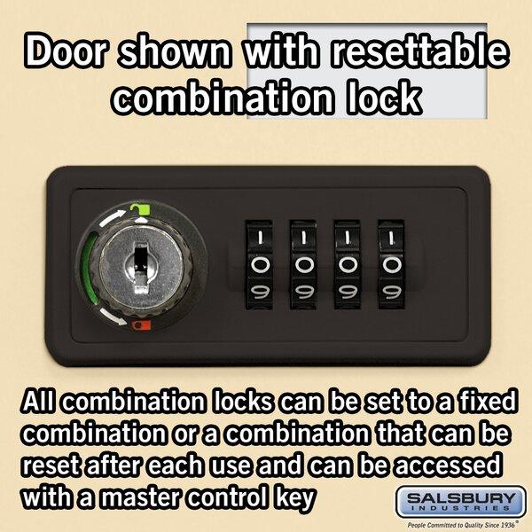 35 Door Recessed Cell Phone Locker by Salsbury Industries