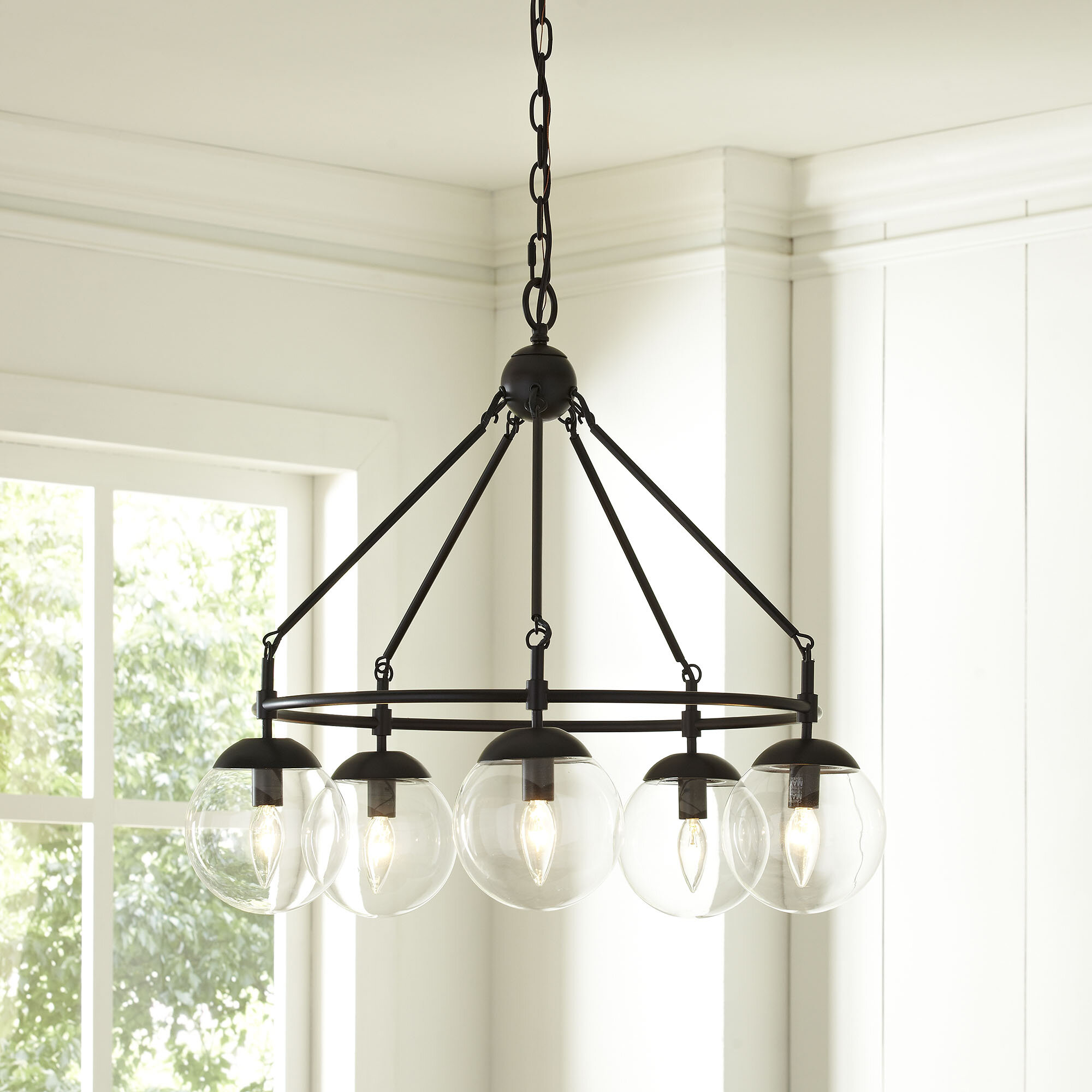 Cranston 5 Light Candle Style Chandelier & Reviews