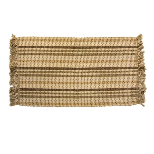 ChainLink Hand-Woven Brown Indoor Area Rug by Ess Ess Exports