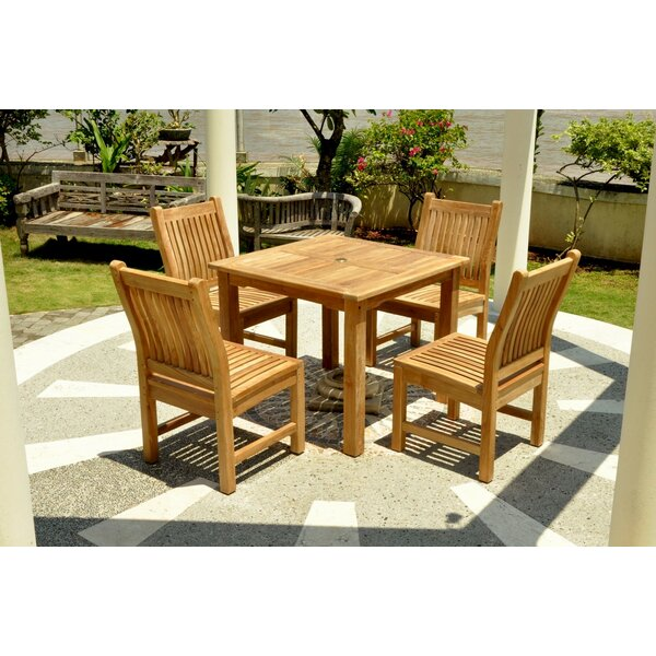 Bahama 11 Piece Teak Dining Set by Anderson Teak