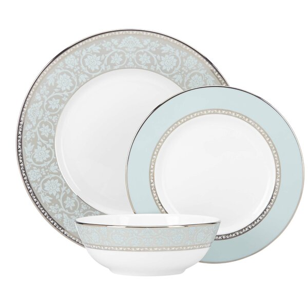 Westmore Bone China 3 Piece Place Setting, Service for 1 by Lenox