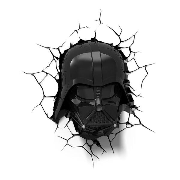 3D EP.7 Star Wars Darth Vader Helmet Deco 4-Light Night Light by 3D Light FX