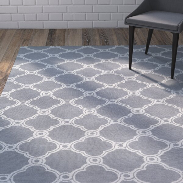 Sandstrom Gray Area Rug by Wrought Studio