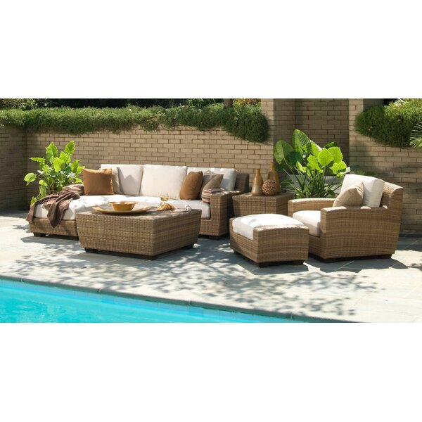 Saddleback Deep Seating Group with Cushions by Woodard