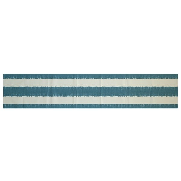 Bluebell Twisted Stripe Print Table Runner by Laurel Foundry Modern Farmhouse