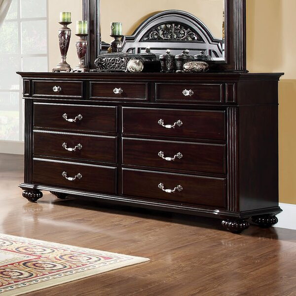 Wesleyan 9 Drawer Dresser by Astoria Grand