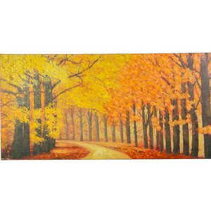 Pristine Trail Painting on Canvas by Y Decor