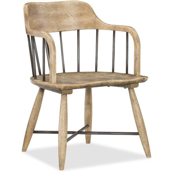 Urban Elevation Low Windsor Dining Chair in Brown (Set of 2) by Hooker Furniture Hooker Furniture