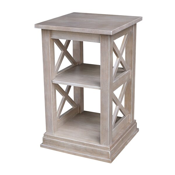 Gabby Accent End Table with Storage by Highland Dunes