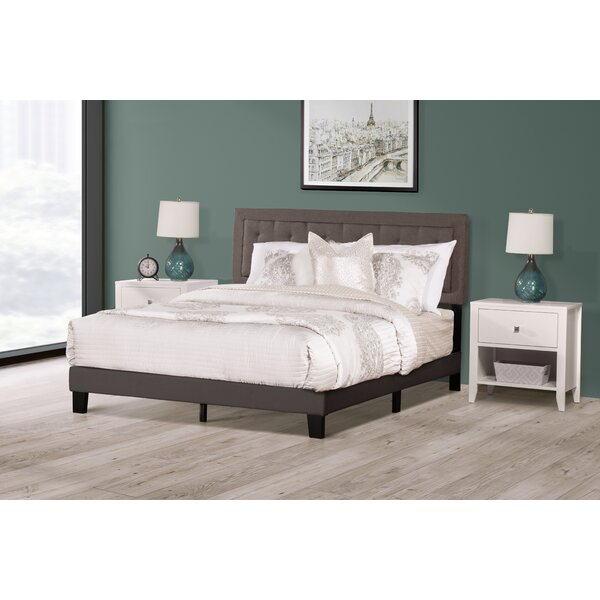 Lyerly Upholstered Standard Bed by Three Posts