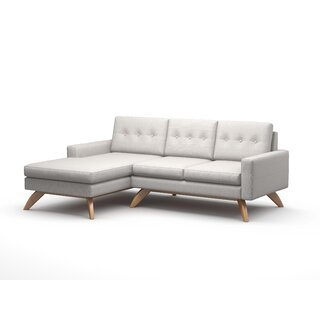 "Luna 90"" Sofa With Chaise by TrueModern SKU:ED159967 Reviews"