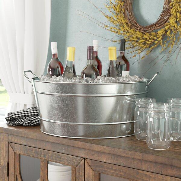 Len Steel Beverage Tub by Gracie Oaks