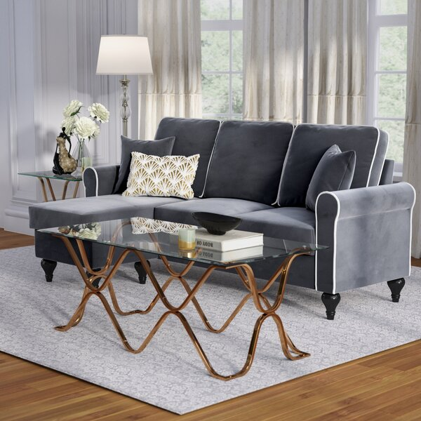 Ester Right Hand Facing Reversible Sectional by Willa Arlo Interiors