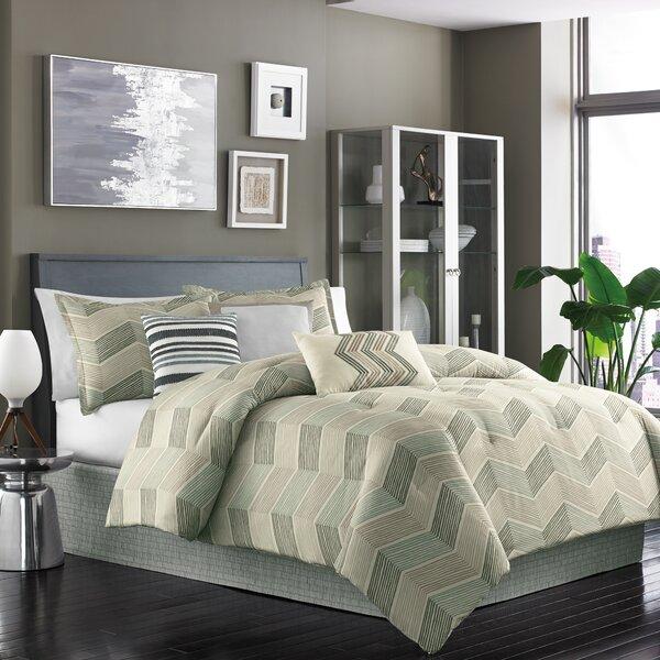 Niko 7 Piece Reversible Comforter Set by Dansk