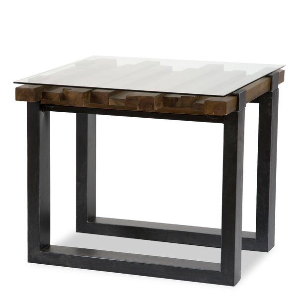 Keystone End Table by Michael Amini