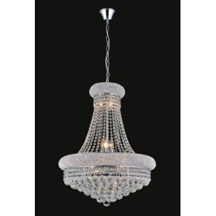 Andres 8-Light Crystal Chandelier By Rosdorf Park Ceiling Lights