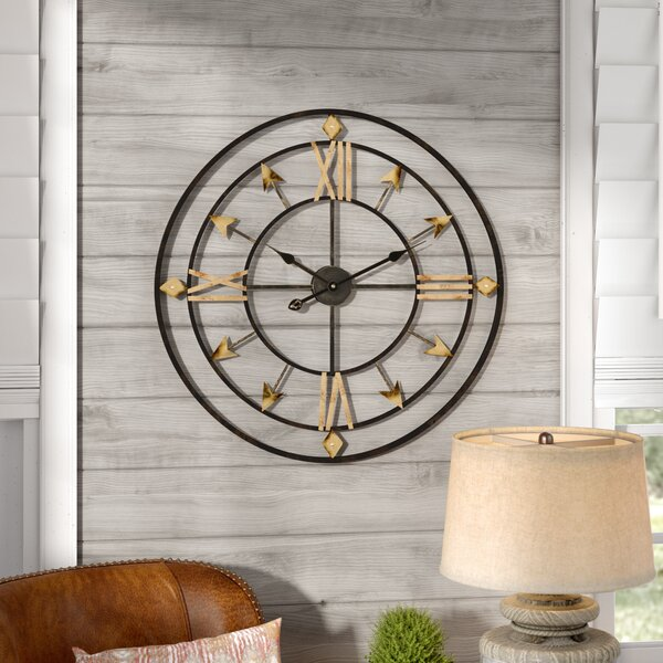 Oversized Arrow 30 Wall Clock by Union Rustic