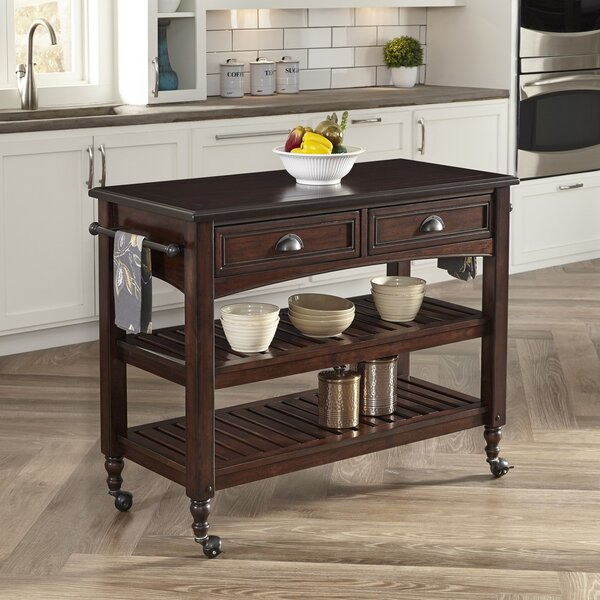 Pablo Kitchen Cart by World Menagerie