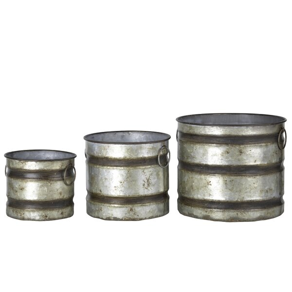 Stefany 3-Piece Pot Planter Set by Williston Forge