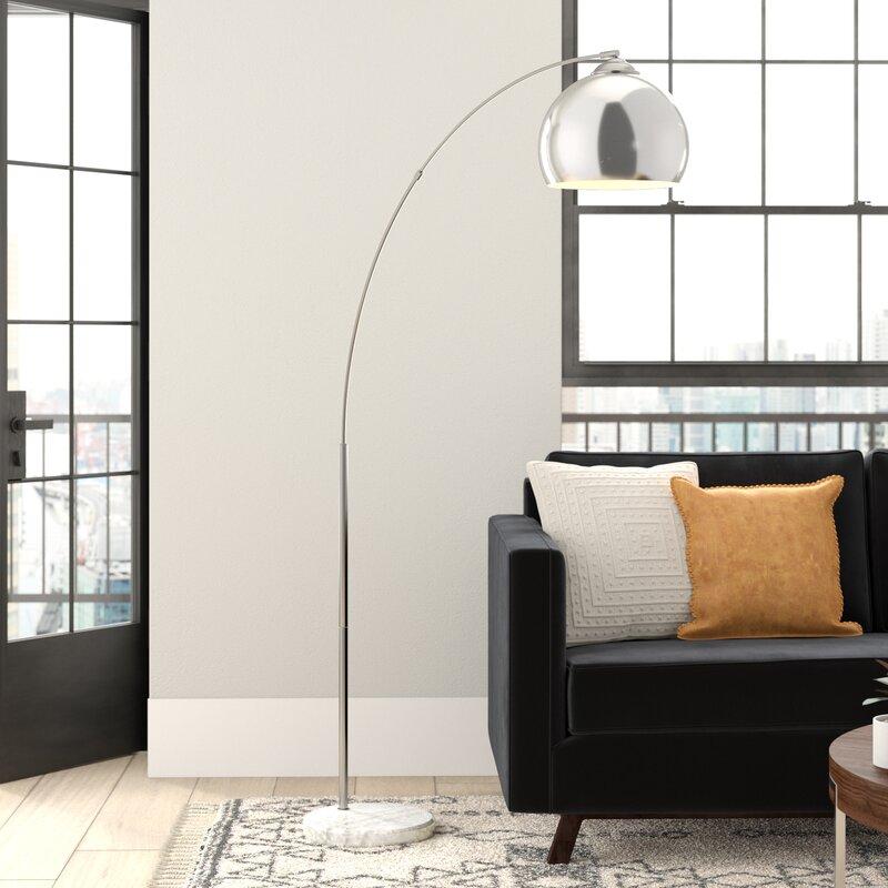 Wrought Studio Perlis 67 Arched Floor