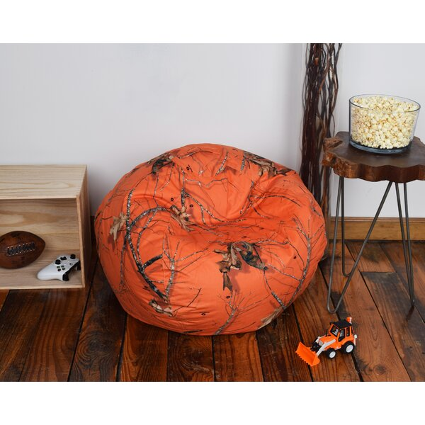 Mossy Bean Bag Chair by Loon Peak