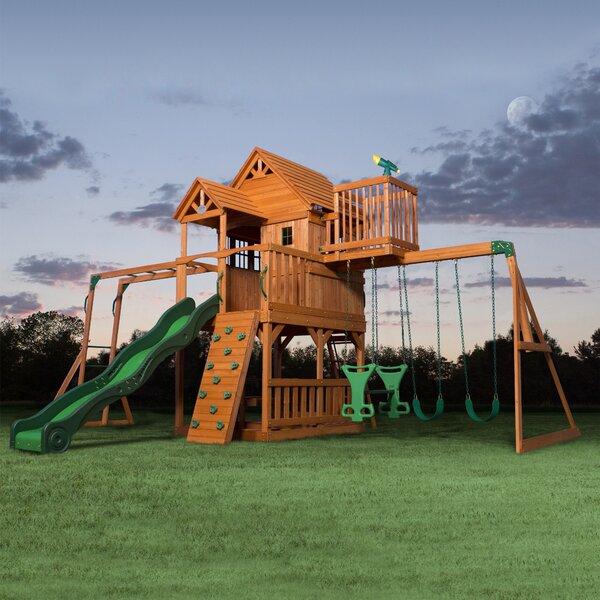 Skyfort II All Cedar Swing Set by Backyard Discovery
