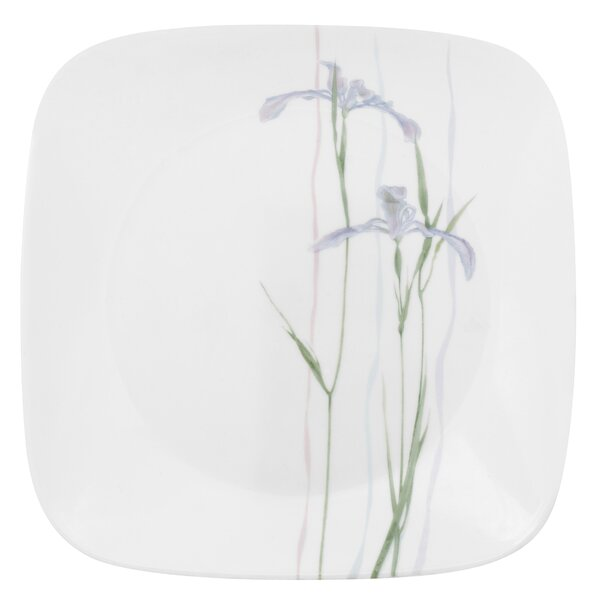 Impressions Shadow Iris Square 9 Plate Set Of 6 By Corelle.