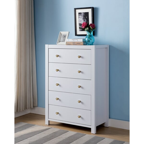 Standifer 5 Drawer Dresser by Union Rustic