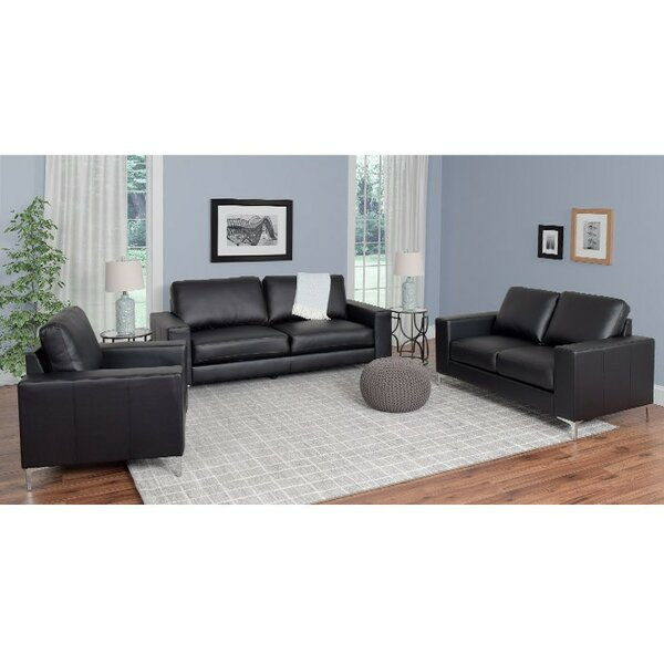 Greysen 3 Piece Living Room Set by Wade Logan