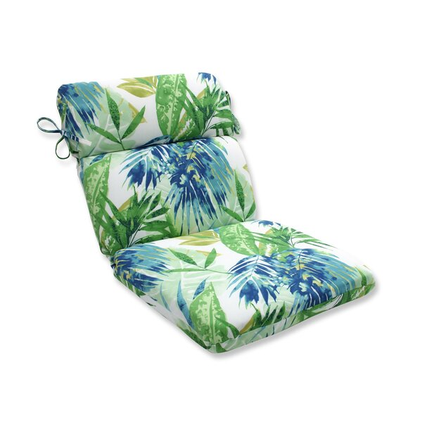 Soleil Indoor/Outdoor Dining Chair Cushion by Pillow Perfect