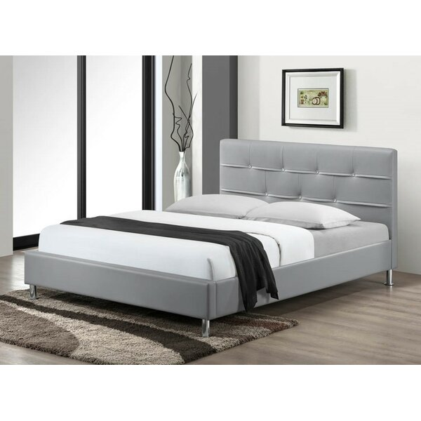 Cherwell Upholstered Platform Bed by Wade Logan