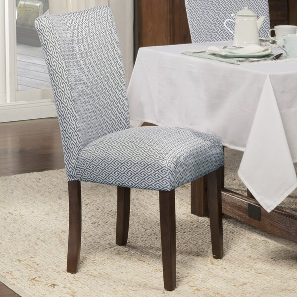 Find Feldman Upholstered Dining Chair (Set Of 2) By Longshore Tides 2019 Sale