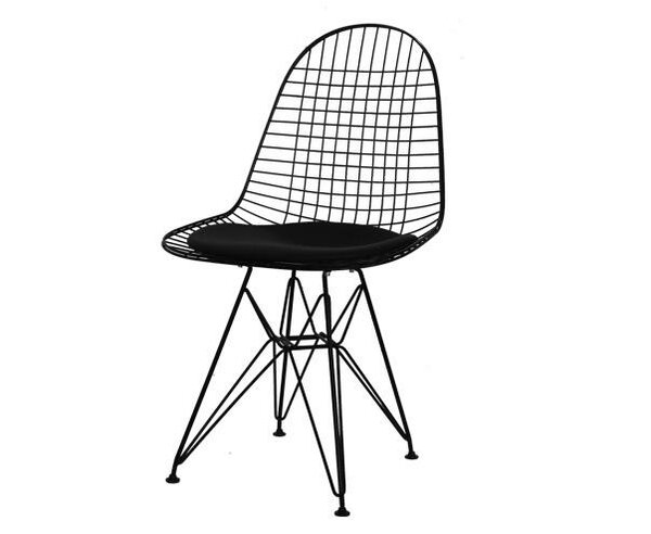 Mannino Cafe Upholstered Dining Chair (Set of 2) by Ivy Bronx