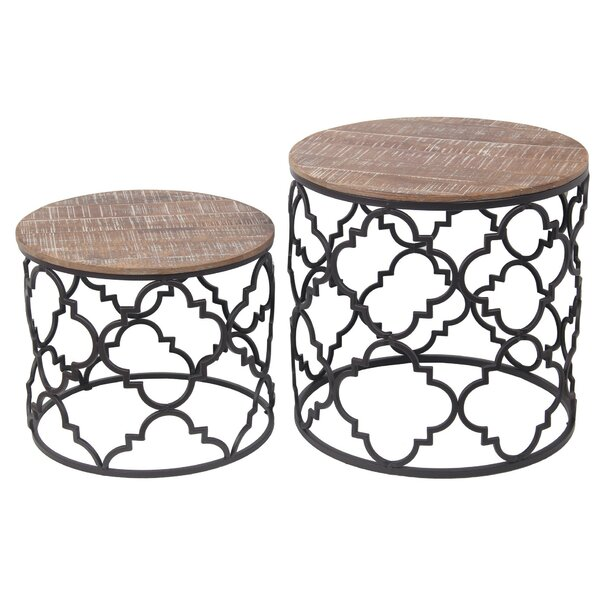 Speakman 2 Piece Nesting Tables By Union Rustic