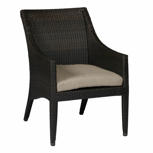 Athena Euro Patio Dining Chair with Cushion by Summer Classics