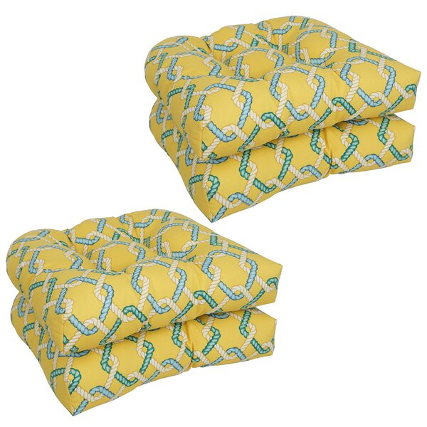 Dining Chair Outdoor Seat Cushion (Set of 4)