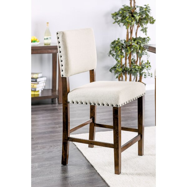 Hong Counter Height Upholstered Dining Chair by Gracie Oaks