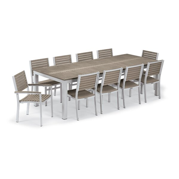 Maclin 11 Piece Dining Set by Latitude Run